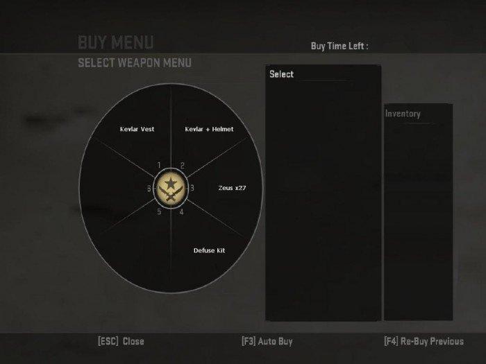 Скачать меню покупки CS:GO для cs 1.6.