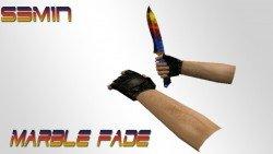 Скачать модель Knife | Marble Fade для cs 1.6.