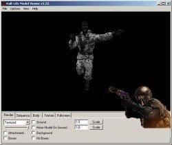 Скачать программу Half-Life Model Viewer 1.2.5 для CS 1.6.